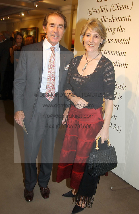 EARL & COUNTESS ALEXANDER OF TUNIS at auctioneers Sotheby's Summer party held at their showrooms in 34-35 New Bond Street, London W1 on 6th June 2005.<br /><br />NON EXCLUSIVE - WORLD RIGHTS