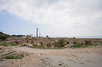 Archeological site of Carthage; Antonine Thermae; Tunis; Tunisia