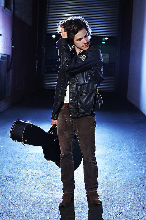 NEW YORK - MAY 04:  Singer/Songwriter Jack Savoretti poses for a portrait backstage  at the City Winery on May 4, 2010 in New York City.  (Photo by Roger Kisby/Getty Images)