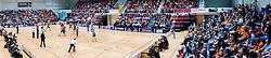 10-04-2016 NED: Seesing Personeel Orion -  Landstede Volleybal, Doetinchem<br /> In de derde en beslissende partij tussen Orion en Landstede Volleybal werd gespeeld om het toegangsticket tot de play – off finale. Orion trok aan het langste eind door Zwolle met 3-1 naar huis te sturen / Topsporthal Doetinchem