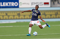 Fotball , 5. august 2019 , Eliteserien<br /> Strømsgodset - Bodø Glimt<br /> Duplexe Tchamba, Strømsgodset<br /> Foto: Christoffer Hansen , Digitalsport