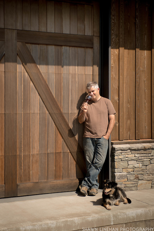 Stephen Goff has single site Pinot Noirs from two vineyards in the Willamette Valley, Shea and Weber.
