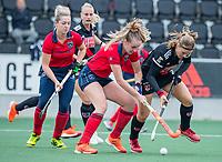 AMSTELVEEN  - tijdens de hoofdklasse competitiewedstrijd hockey dames , Amsterdam-Laren (3-0)  , COPYRIGHT KOEN SUYK
