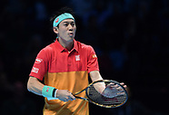 Nishikori at O2 Masters