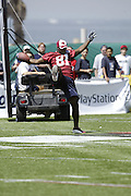NFL players participating in the 2004 NFL Quarterback Challenge in Santa Monica, CA on 04/24/2004. ©Paul Anthony Spinelli