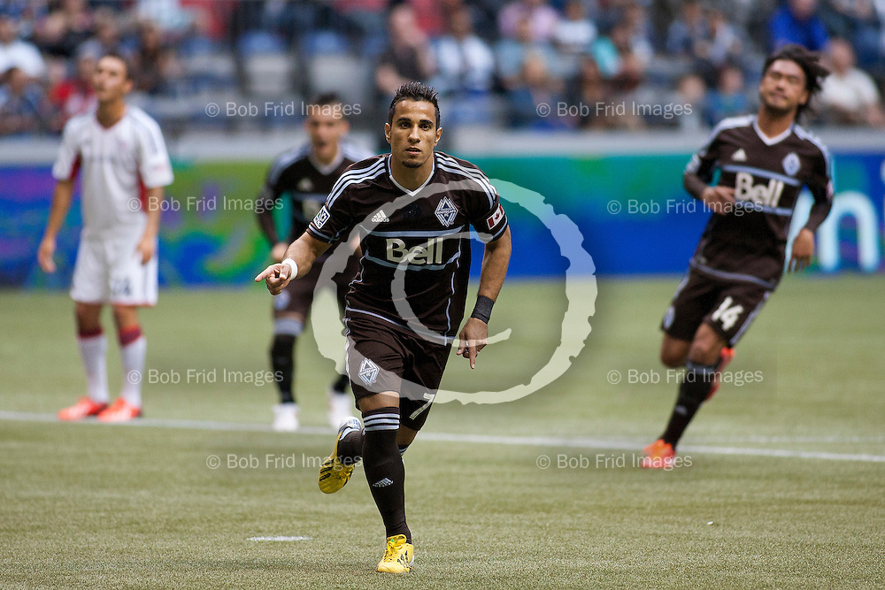 2013: Major League Soccer (MLS) - Highlights of Vancouver Whitecaps FC First Half of the 2013 Season  ****(Photo by Bob Frid - Vancouver Whitecaps) All Rights Reserved