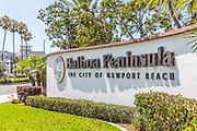 Balboa Peninsula the City o fNewport Beach Monument