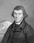 Henry Andrews (1744-1820) English astronomical calculator, schoolmaster, author of 'Moore's Almanack'. Born Frieston near Grantham Lincolnshire. Stipple engraving