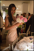 OCTAVIA KENT, Cartier dinner in celebration of the Chelsea Flower Show. The Palm Court at the Hurlingham Club, London. 19 May 2014.