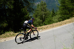 Alena Amialiusik (CANYON//SRAM Racing) on the descent to Tirano at Giro Rosa 2016 - Stage 5. A 77.5 km road race from Grosio to Tirano, Italy on July 6th 2016.