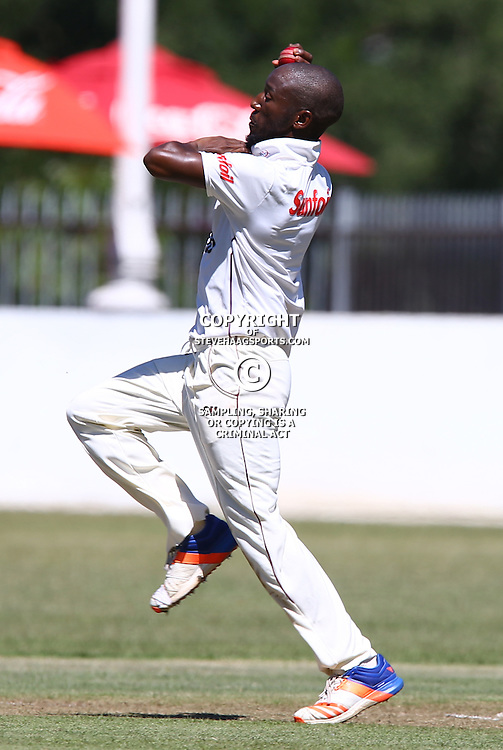 General views of a Bizhub Highveld Lions Player during Day 1 of the Sunfoil Series match between Hollywoodbets Dolphins and the bizhub Highveld Lions at the City Oval, Pietermaritzburg,South Africa. 19th January 2017  - (Photo by Steve Haag)