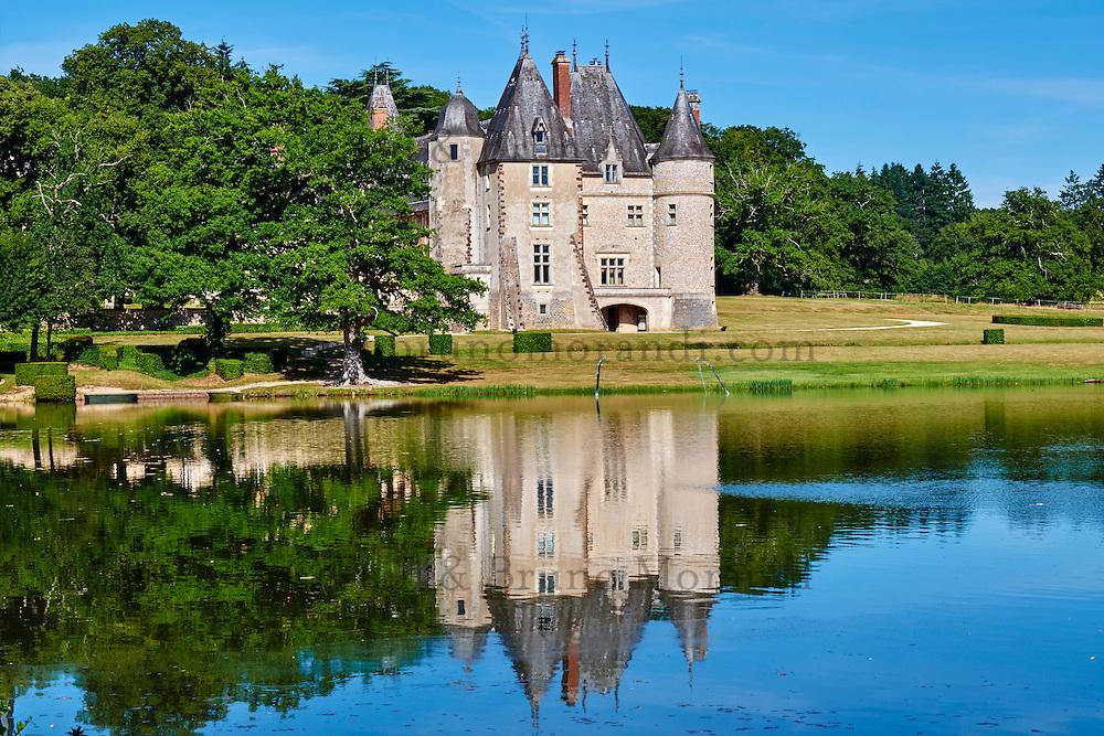 France, Cher (18), Berry, château de la Verrerie, route Jacques Coeur // France, Cher (18), Berry, the Jacques Coeur road, chateau de la Verrerie castle