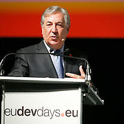 20160615 - Brussels , Belgium - 2016 June 15th - European Development Days - Towards a circular economy for sustainable consumption and production - Karmenu Vella , Commissioner for Environment , Maritime Affairs and Fisheries , European Commission © European Union
