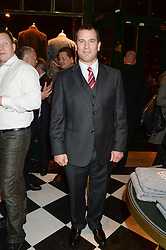 PETER PHILLIPS at the Kent and Curwen London Flagship Launch, Saville Row, London on 6th November 2013.