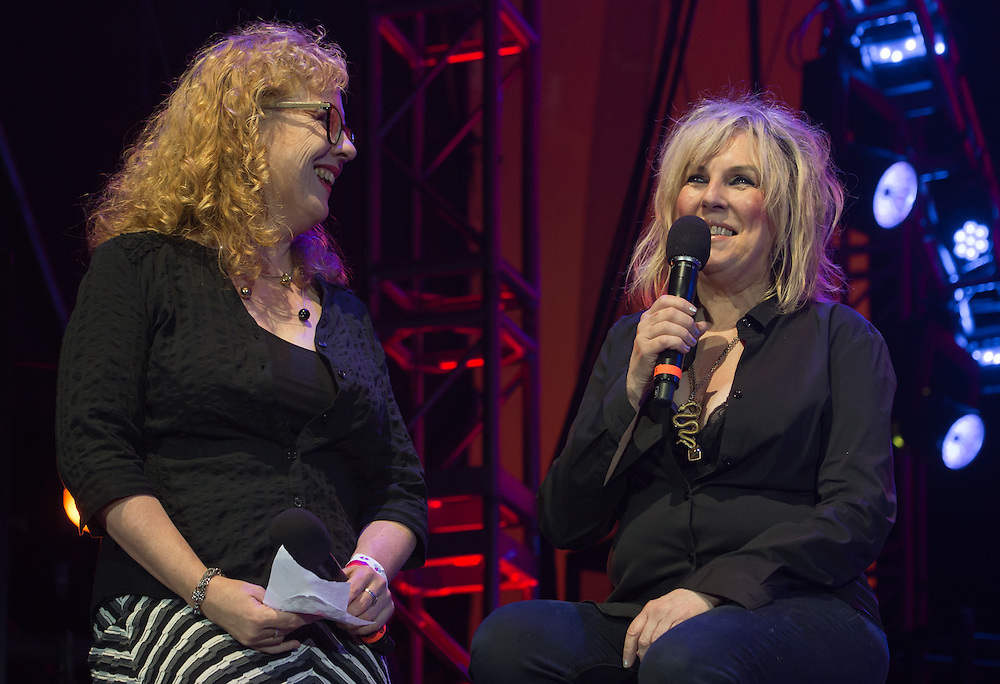 Ann Powers and Lucinda Williams
