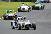 #97 Steve McCulley Caterham Tracksport during the Avon Tyres Caterham Tracksport Championship at Oulton Park, Little Budworth, Cheshire, United Kingdom. August 13 2016. World Copyright Peter Taylor/PSP.