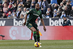 February 10, 2019 - Madrid, Madrid, Spain - Real Betis Balompie's Sidnei Rechel da Silva during La Liga match between CD Leganes and Real Betis Balompie at Butarque Stadium in Madrid, Spain. February 10, 2019. (Credit Image: © A. Ware/NurPhoto via ZUMA Press)