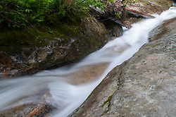 Stream Detail, Denny Creek Waterslides, Mt. Baker-Snoqualmie National Forest, Washington, US