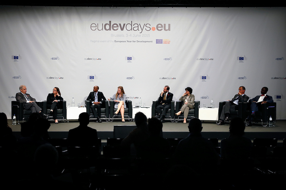 04 June 2015 - Belgium - Brussels - European Development Days - EDD - Growth , jobs and partnership with business - How to make a difference together in contributing to a sustainable and inclusive growth agenda © European Union
