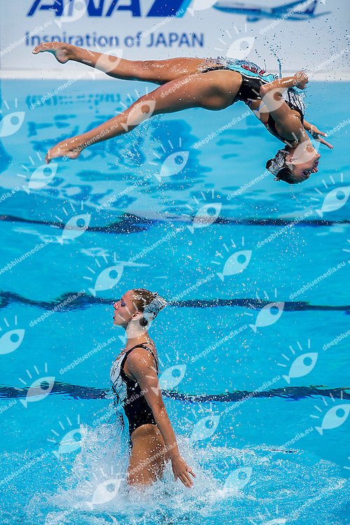 Team Greece GRE<br /> Synchro Women's Team Free Final Free Routine - Kazan Arena<br /> Day08 31/07/2015<br /> XVI FINA World Championships Aquatics Swimming<br /> Kazan Tatarstan RUS July 24 - Aug. 9 2015 <br /> Photo A.Masini/Deepbluemedia/Insidefoto