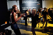 TOLULA ADEYEMI; NATHALIE PRESS,- Nokia and Daid Bailey celebrate London ' Alive at Night' to launch Nokia N86. the Old Dairy, 6 Wakefield st. London. WC1. 26 August 2009.