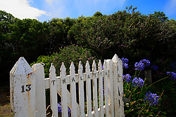 AUSTRALIA VICTORIA AIREYS INLET 8FEB08 - Wooden gate at the cottages of Split Point Lighthouse on the Great Ocean Road, Victoria, Australia...jre/Photo by Jiri Rezac..© Jiri Rezac 2008..Contact: +44 (0) 7050 110 417.Mobile:  +44 (0) 7801 337 683.Office:  +44 (0) 20 8968 9635..Email:   jiri@jirirezac.com.Web:    www.jirirezac.com..© All images Jiri Rezac 2007 - All rights reserved.
