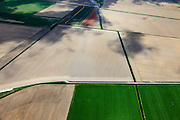 Nederland, Zuid-Holland, Goeree-Overflakkee, 09-05-2013; Zuidkreek, ten zuiden van Middelharnis.<br /> Droge akkers. <br /> South Holland Islands, arid fields. <br /> luchtfoto (toeslag op standard tarieven)<br /> aerial photo (additional fee required)<br /> copyright foto/photo Siebe Swart