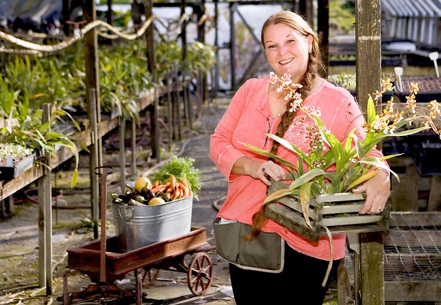 Organic Farmer Portrait, Tampa Bay