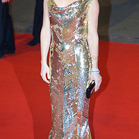 LONDON - FEBRUARY 10:Actress Kate Hudson arrives at The Orange British Academy Film Awards 2008 at the Royal Opera House on February 10, 2008 in London, England.