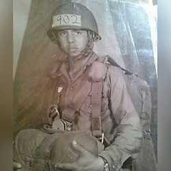 June 14, 2017 - California, U.S. - Photo: RAMOS_JOSE1.Jose Ramos, pictured here from 1965, enlisted in the Army at the end of his 10th-grade year at Garfield High School in East Los Angeles. He did not receive his diploma until June 9, 2017...Courtesy of Jose Ramos (Credit Image: © San Gabriel Valley Tribune via ZUMA Wire)
