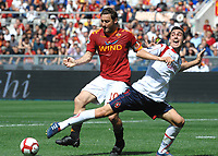 "Francesco TOTTI Roma, Davide ASTORI Cagliari<br /> Roma 9/5/2010 Stadio ""Olimpico""<br /> Roma Cagliari<br /> Campionato Italiano Serie A 2009/2010 - Italy cup final<br /> Foto Andrea Staccioli Insidefoto<br /> Fiorentina captain Davide Astori dies suddenly aged 31 . <br /> Astori was staying a hotel with his team-mates ahead of their game on Sunday away at Udinese when he passed away. <br /> Foto Insidefoto"