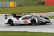 1 LMP1 Porsche Team / Porsche 919 Hybrid / Timo Bernhard / Mark Webber / Brendon Hartley during the FIA World Endurance Championship Qualifying at Silverstone, Towcester, United Kingdom on 15 April 2016. Photo by Craig McAllister.