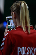 Warsaw, Poland - 2017 December 08: Tennis player  Paulina Czernik from Poland while Photo Session of Fed Cup Team of Polish Tennis Association at Mera Tennis Club on December 08, 2017 in Warsaw, Poland.<br /> <br /> Mandatory credit:<br /> Photo by © Adam Nurkiewicz / Mediasport<br /> <br /> Adam Nurkiewicz declares that he has no rights to the image of people at the photographs of his authorship.<br /> <br /> Picture also available in RAW (NEF) or TIFF format on special request.<br /> <br /> Any editorial, commercial or promotional use requires written permission from the author of image.