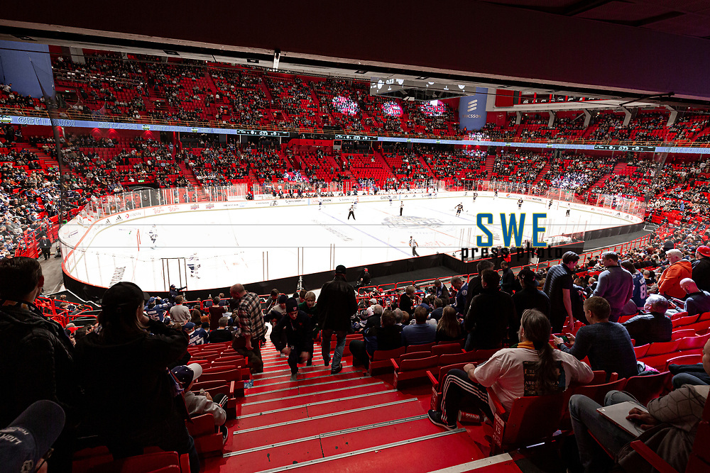 2019-11-08 | Stockholm, Sweden : Ericsson Globe Arena during NHL Global series at Globe Arena (Photo by : Daniel Carlstedt | Swe Press Photo