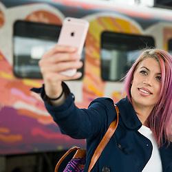 20160516: SLO, People - Selfie at train by Slovenske zeleznice