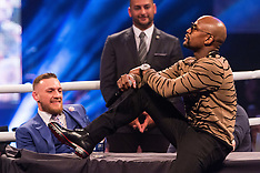 London: Mayweather and McGregor World Tour - 14 July 2017