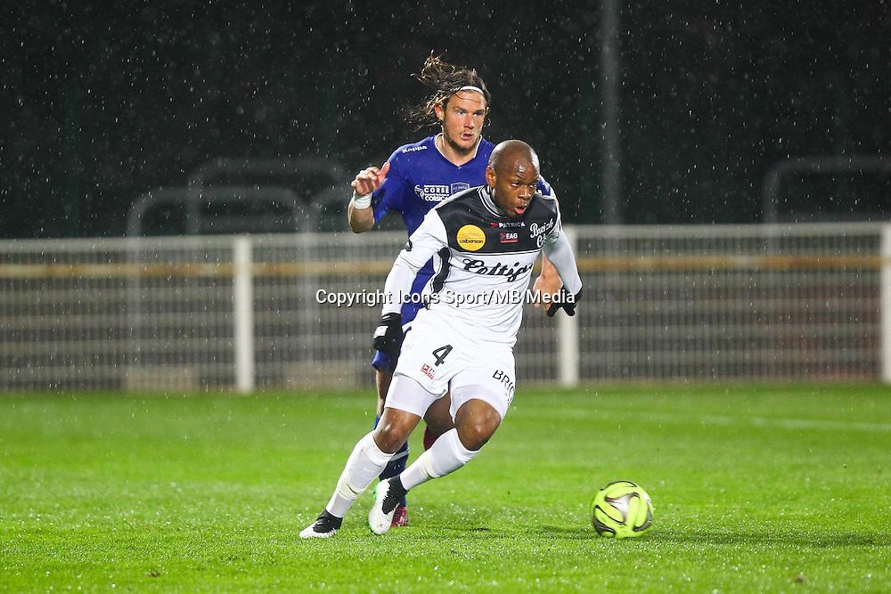 Baissama Sankoh / Guillaume Gillet - 21.03.2015 - Bastia / Guingamp - 30eme journee de Ligue 1 <br />Photo : Andre Delon / Icon Sport