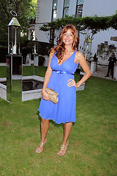 REBECCA LOOS at the Tatler Summer Party, The Hempel Hotel, 31-35 Craven Hill Gardens, London W2 on 25th June 2008.<br /><br />NON EXCLUSIVE - WORLD RIGHTS
