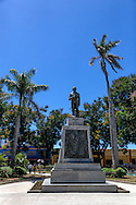 Cespedes monument in Bayamo, Granma, Cuba.