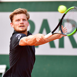 David Goffin of Belgium during Day 8 of the French Open 2018 on June 3, 2018 in Paris, France. (Photo by Dave Winter/Icon Sport)