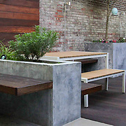 Modern Garden design in Brooklyn