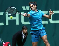 June 21, 2018 - Halle, Allemagne - Swiss player Roger Federer  (Credit Image: © Panoramic via ZUMA Press)