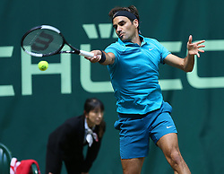 June 21, 2018 - Halle, Allemagne - Swiss player Roger Federer  (Credit Image: © Panoramic via ZUMA Press)