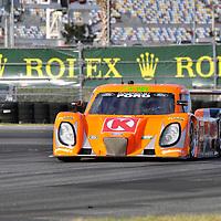 Team Doran Racing competing at the Rolex 24 at Daytona 2012