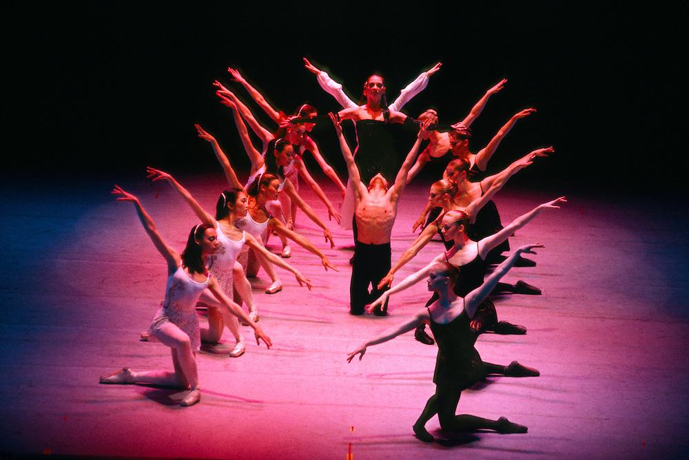 """The Colorado Ballet performing """"Carmina Burana"""", Denver Performing Arts Complex, Denver, Colorado"""