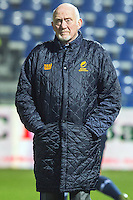 Romania's coach, the Welsh Lynn Howels, during their rugby test match between Romania and USA, on National Stadium Arc de Triomphe in Bucharest, November 8, 2014. Romania lose the match against USA, final score 17-27.