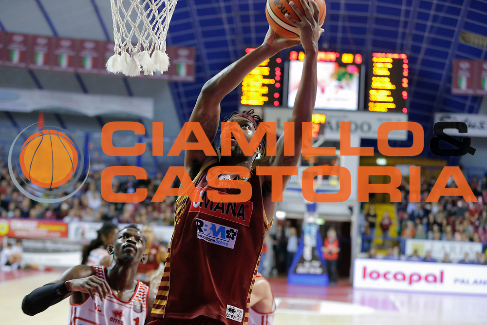 Julyan Stone<br /> Umana Reyer Venezia - Consultinvest Pesaro<br /> Lega Basket Serie A 2016/2017<br /> Venezia 05/03/2017<br /> Foto Ciamillo-Castoria