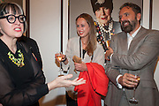 PHILLIPPA PERRY; VIOLA FORT; KEITH TYSON, Opening of Bailey's Stardust - Exhibition - National Portrait Gallery London. 3 February 2014