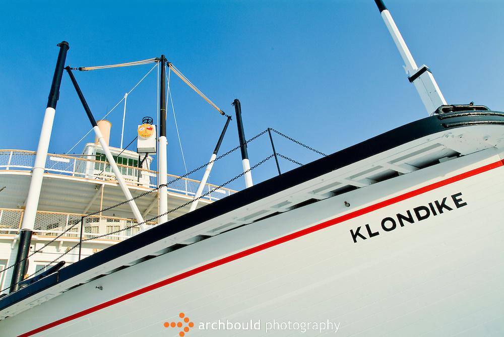SS Klondike sternwheeler, Whitehorse, Yukon.
