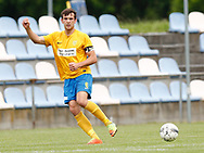 FODBOLD: Nikolaj Jensen (Ølstykke FC) under kampen i Serie 1 mellem Ølstykke FC og Brede IF den 3. juni 2017 på Ølstykke Stadion. Foto: Claus Birch